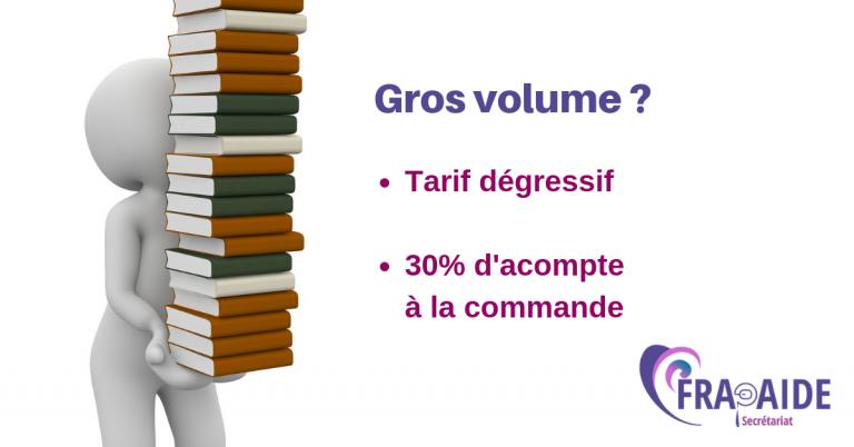 Gros volume
